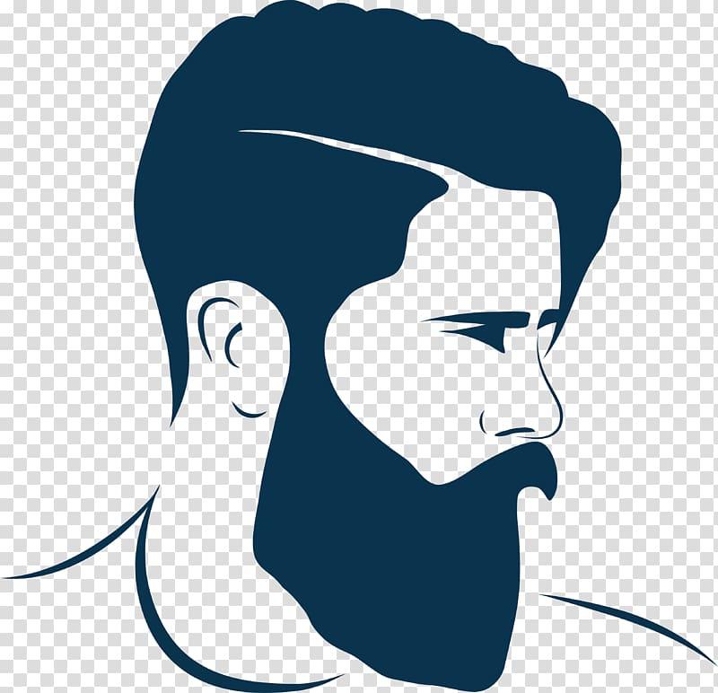 Beard baby face clipart vector download Men\'s black beard , Hairstyle Beard Barber Fashion, beard and ... vector download