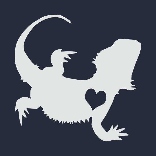 Bearded dragon silhouette clipart banner free download Adore Bearded Dragons banner free download