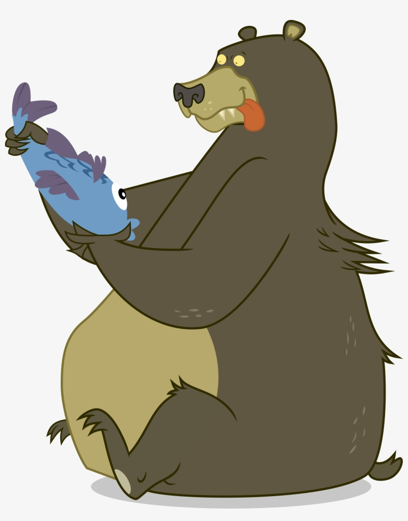 Bears eat fish clipart picture free Bear Clipart Eats Fish - Bear Eating Fish Clipart - Free Transparent ... picture free