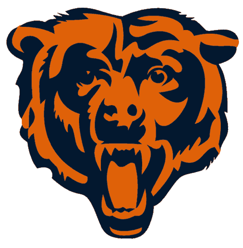 Bears logo clipart picture black and white library Chicago Bears Logo Clipart | Free download best Chicago Bears Logo ... picture black and white library