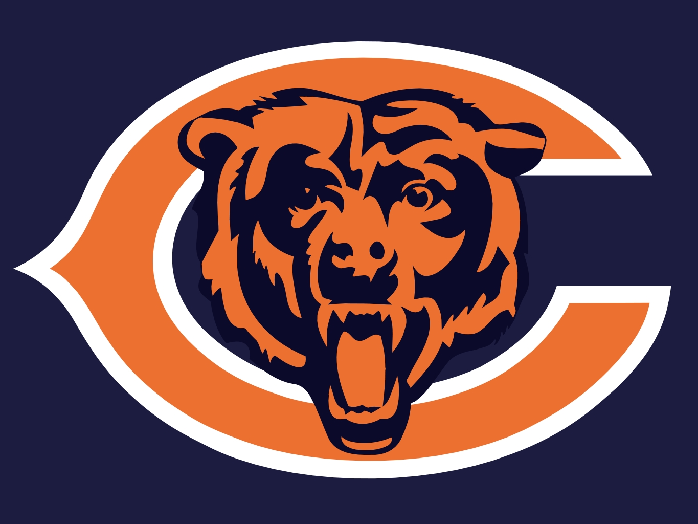 Bears logo clipart picture Free Chicago Bears Logo, Download Free Clip Art, Free Clip Art on ... picture