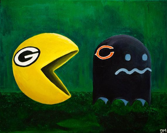 Bears packers clipart png download Green Bay Packers Clip Art | Green Bay Packers Vs Chicago Bears Art ... png download