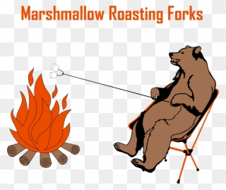 Bears toasting marshmellows clipart graphic freeuse stock Bears - Fish Products Clipart (#3476071) - PinClipart graphic freeuse stock
