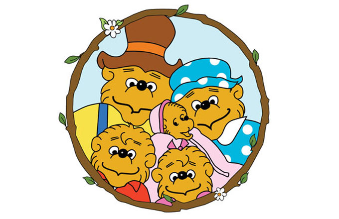 Bearstein bers clipart image Here\'s Why Everyone Mispronounces \'Berenstain Bears\' | Complex image