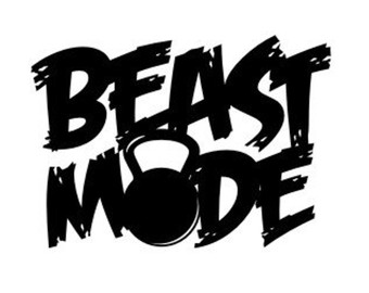 Beast mode clipart banner royalty free stock Beast Mode - Mini Beast Mode - Disney Beau #135075 - Clipartimage.com banner royalty free stock