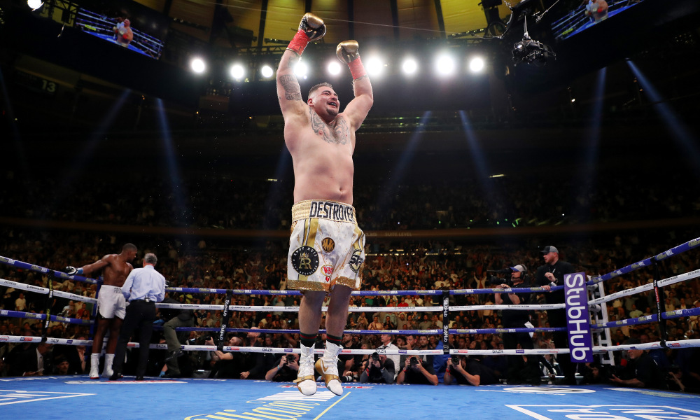 Beat up boxer clipart freeuse download Twitter had so many jokes about Andy Ruiz Jr. beating Anthony Joshua freeuse download