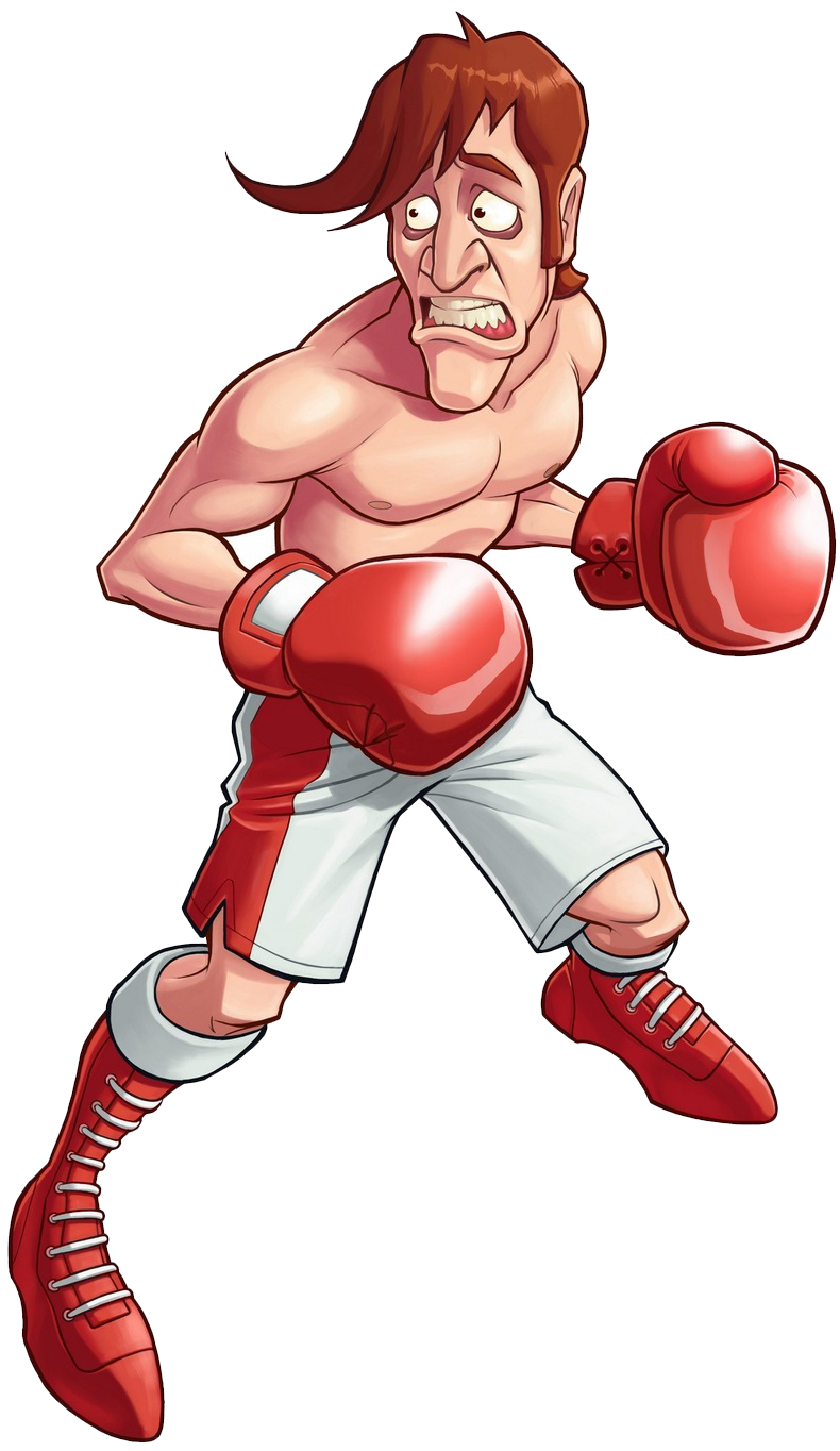 Beat up boxer clipart banner black and white download Glass Joe | Punch-Out!! Wiki | FANDOM powered by Wikia banner black and white download