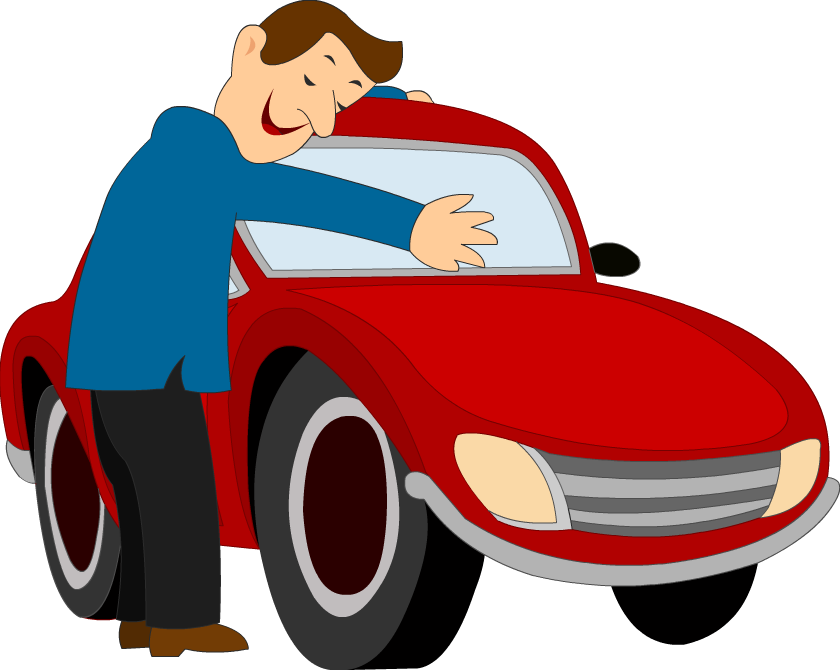 Car love clipart