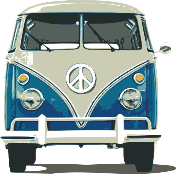 Beat up car clipart banner free Vw Bus Clip Art At Clker Com Vector Clip Art Online Royalty Free ... banner free