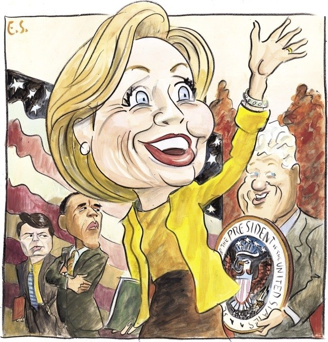 Beat up hillary clinton clipart picture freeuse The Legacy Problem | The New Yorker picture freeuse