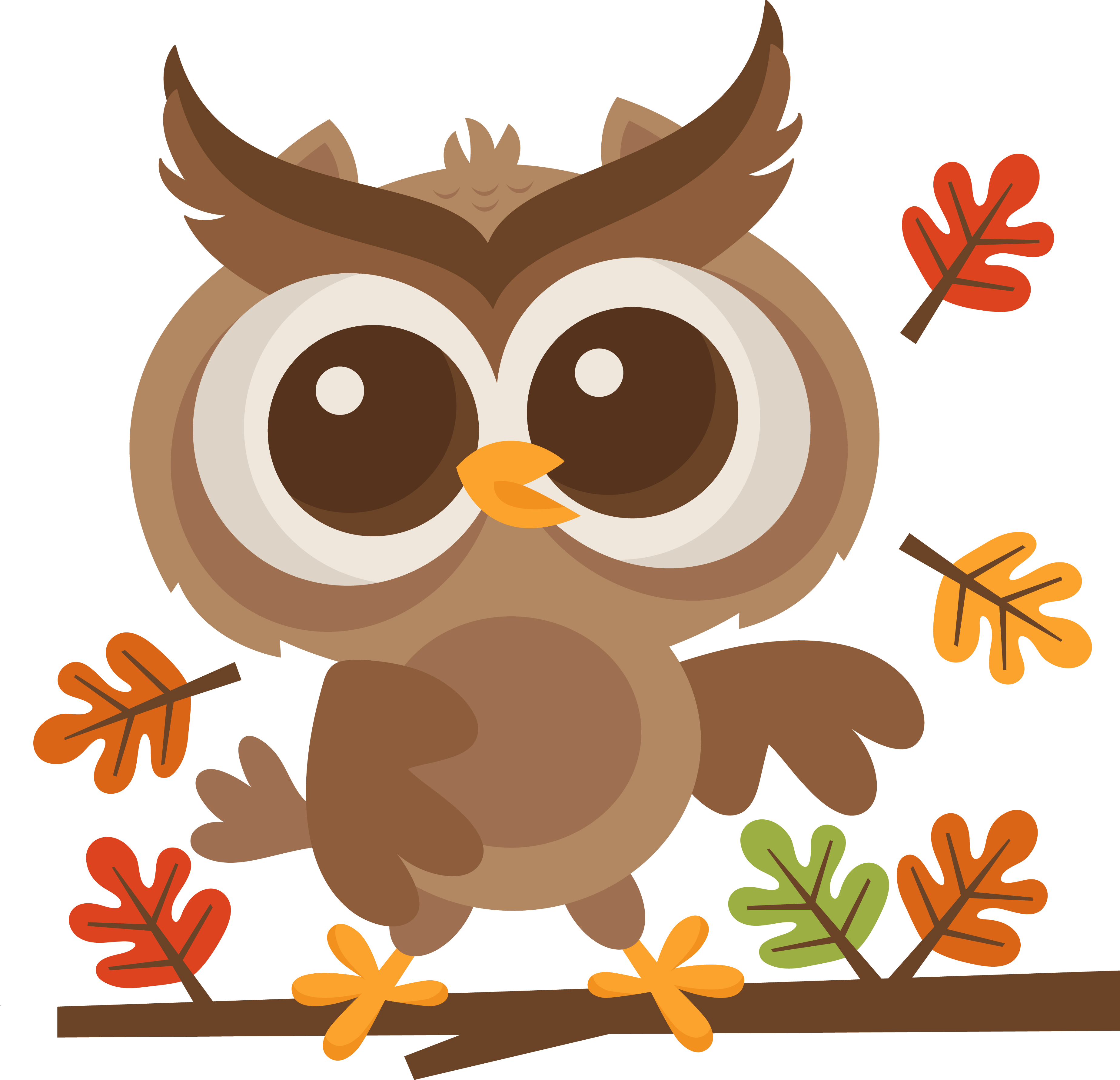 Owl turkey clipart clip library MKC_FallOwlOnBranch_SVG | S_SVG_MKC_Miss Kate Cuttables | Pinterest ... clip library