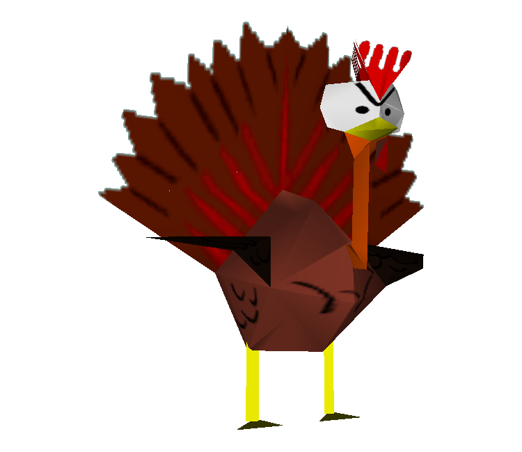 Sports turkey clipart jpg library download Nintendo 64 - South Park - Turkey - The Models Resource jpg library download
