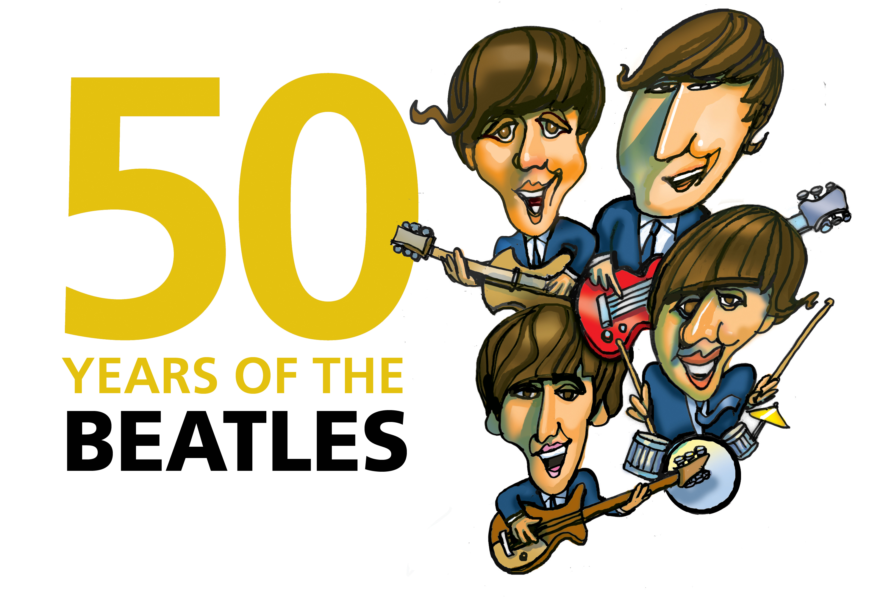 Beatles caricature clipart clip library download Free Beatles Cliparts, Download Free Clip Art, Free Clip Art on ... clip library download