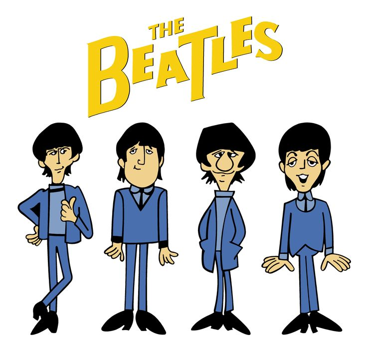 Beatles caricature clipart banner library stock Beatles Clipart | Free download best Beatles Clipart on ClipArtMag.com banner library stock