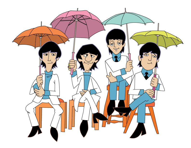 Beatles caricature clipart vector free Free Beatles Cliparts, Download Free Clip Art, Free Clip Art on ... vector free