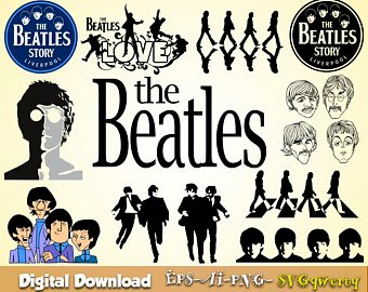 Beatles clipart png black and white stock The beatles clipart 5 » Clipart Station png black and white stock