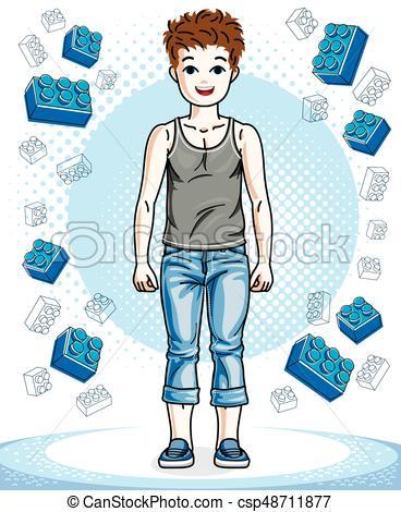 Beau clipart vector royalty free stock beau, garçon, mode, clipart., character., jeune, clothes., thème, vecteur,  poser, adolescent, élégant, désinvolte, heureux vector royalty free stock