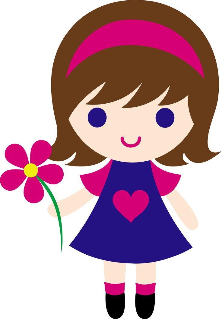 Beautiful baby girl clipart clipart royalty free stock Cute brown hair baby girl clipart - ClipartFest clipart royalty free stock