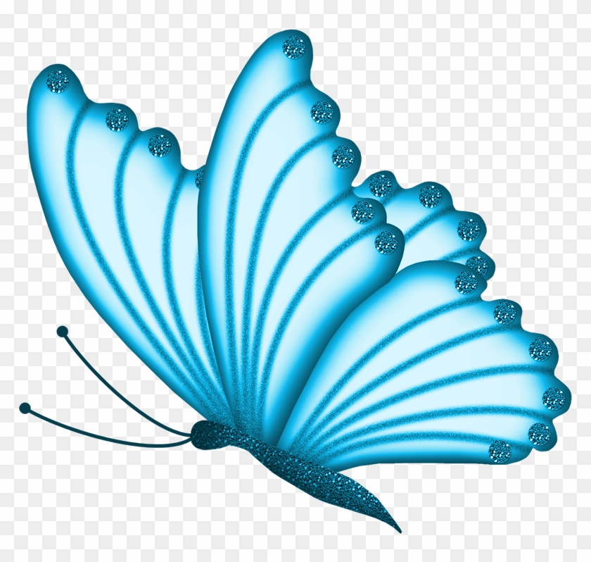 Beautiful blue butterfly clipart graphic free library Beautiful Clipart Butterfly - Butterfly Clipart Blue, HD Png ... graphic free library