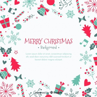 Beautiful christmas cards clipart with red background picture free library Christmas Frame Vectors, Photos and PSD files | Free Download picture free library