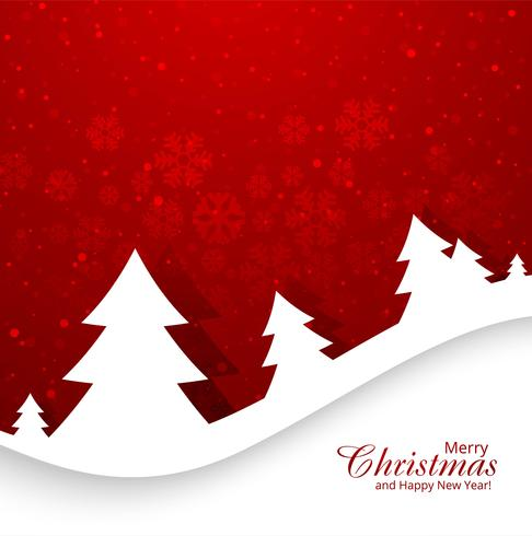 Beautiful christmas cards clipart with red background banner royalty free stock Beautiful merry christmas card with snowflake background Vector ... banner royalty free stock