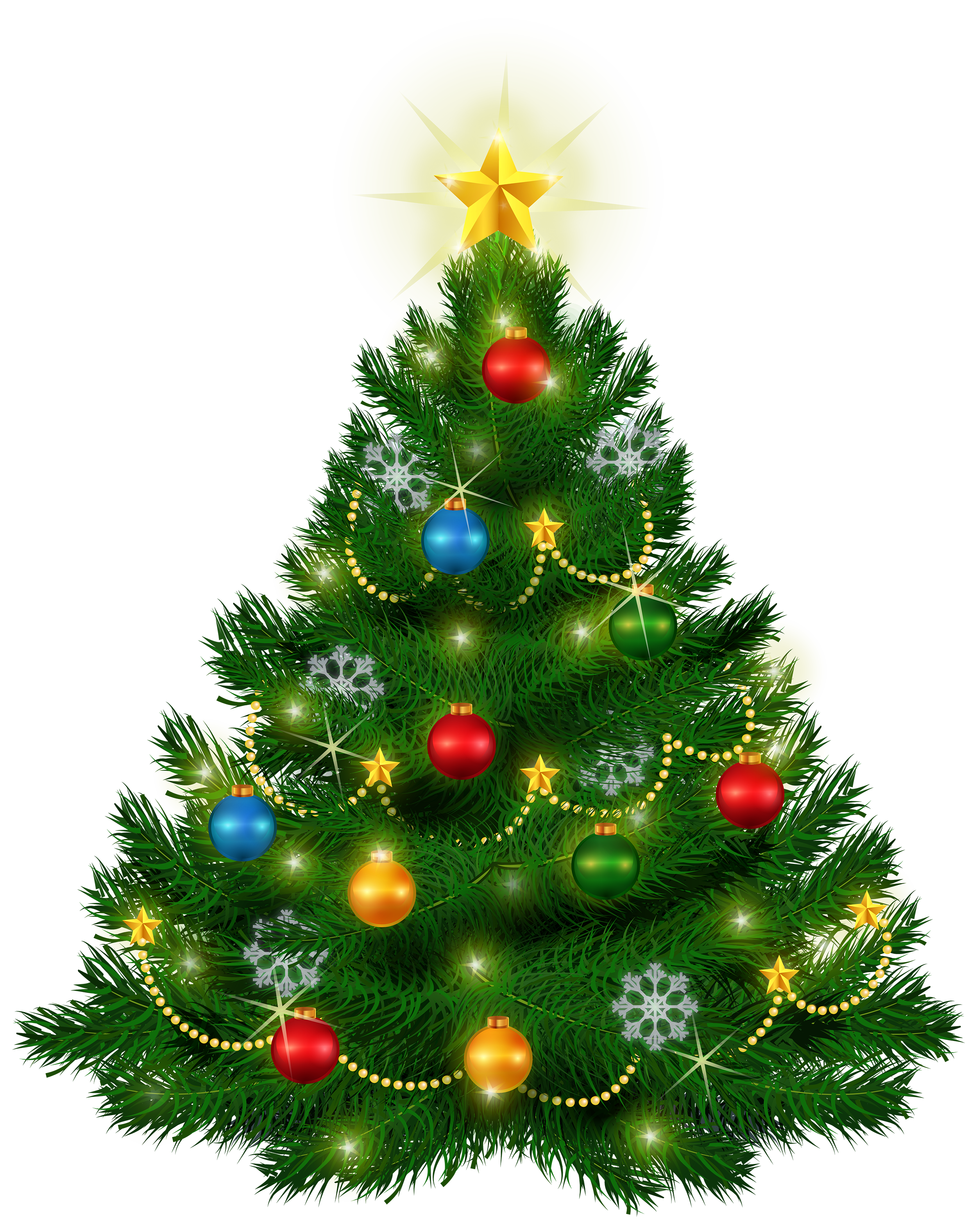 Beautiful christmas clipart vector transparent library Beautiful Christmas Tree PNG Clipart - Best WEB Clipart vector transparent library