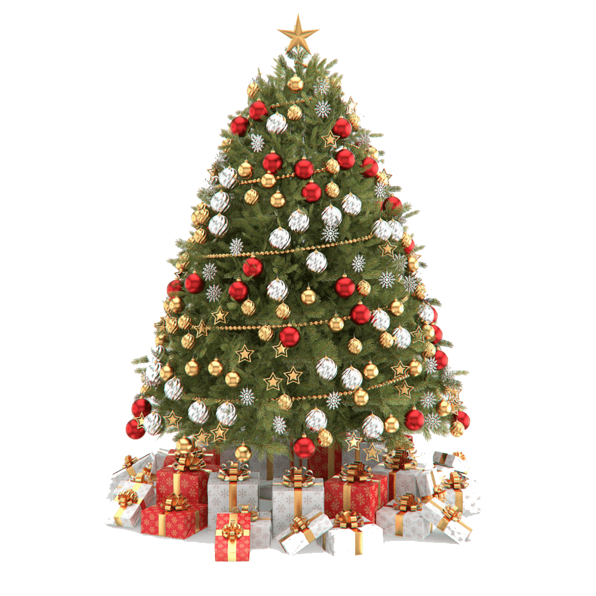 Christmas tree clipart png free download Beautiful Christmas Tree PNG Clipart free download