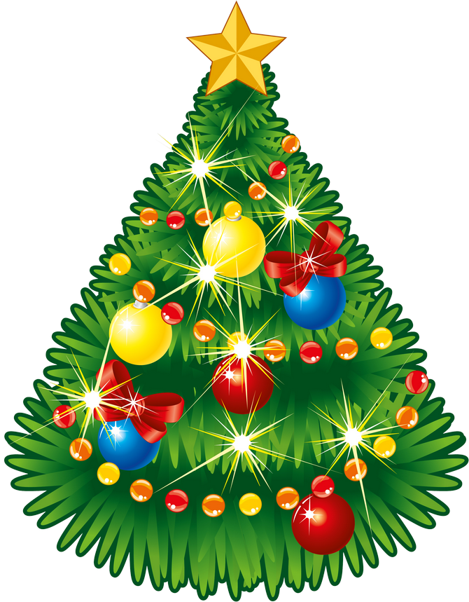 Christmas tree star clipart jpg freeuse Transparent Christmas Tree with Star PNG Clipart | Gallery ... jpg freeuse