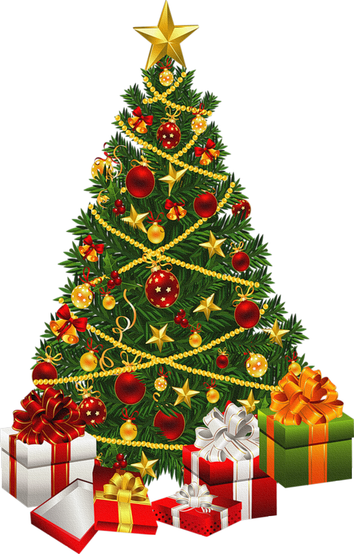 Clipart christmas tree with presents banner freeuse stock ✿⁀Christmas Trees ‿✿⁀° | Christmas pics for cards | Pinterest ... banner freeuse stock