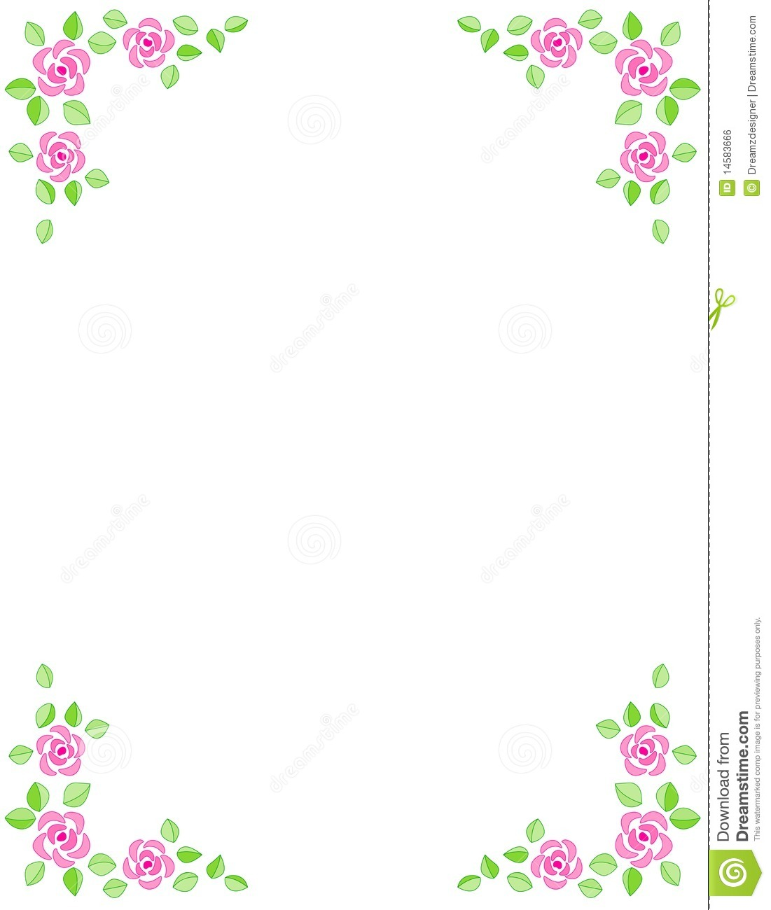 Beautiful clip art borders freeuse library Pink Birthday Border Clipart - Clipart Kid freeuse library