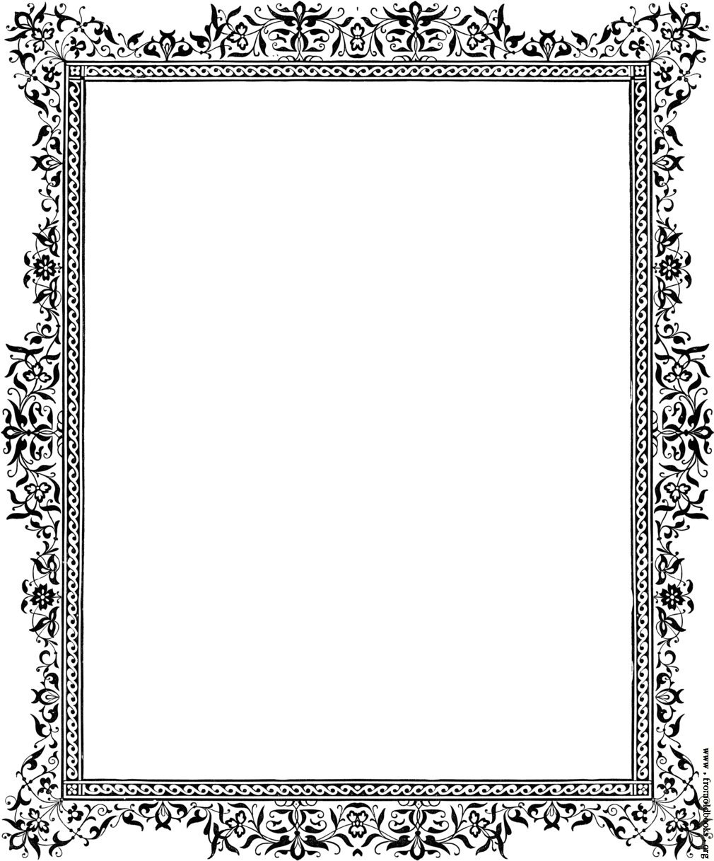 Beautiful clip art borders clipart library library Beautiful borders clip art - ClipartFest clipart library library