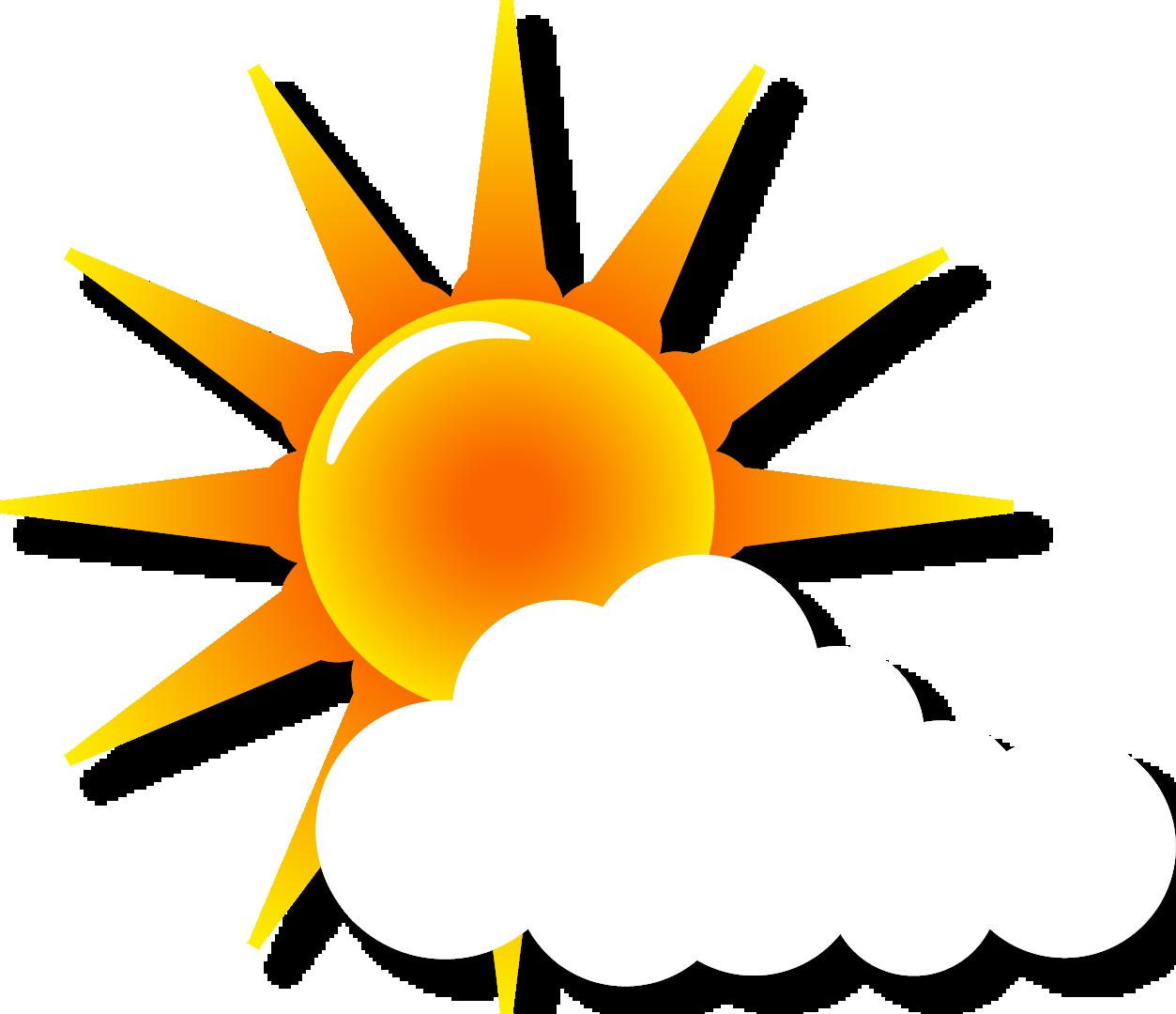 Beautiful clipart sun banner royalty free Euclidean vector Illustration - Beautiful sun clouds vector elements ... banner royalty free