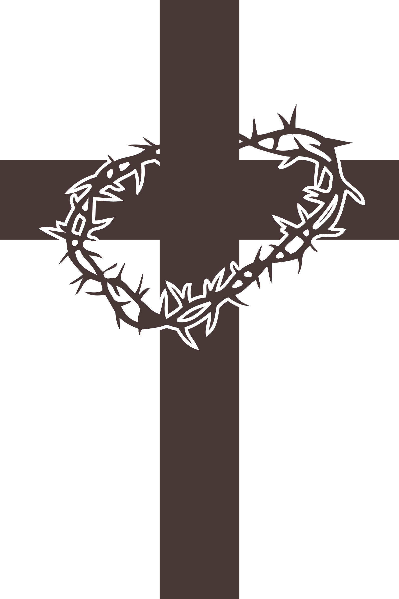 Catholic clipart of the crown of thorns and cross clip art free Beautiful Ideas Clip Art Cross Clipart Etsy #36900 - Coloring Pages ... clip art free