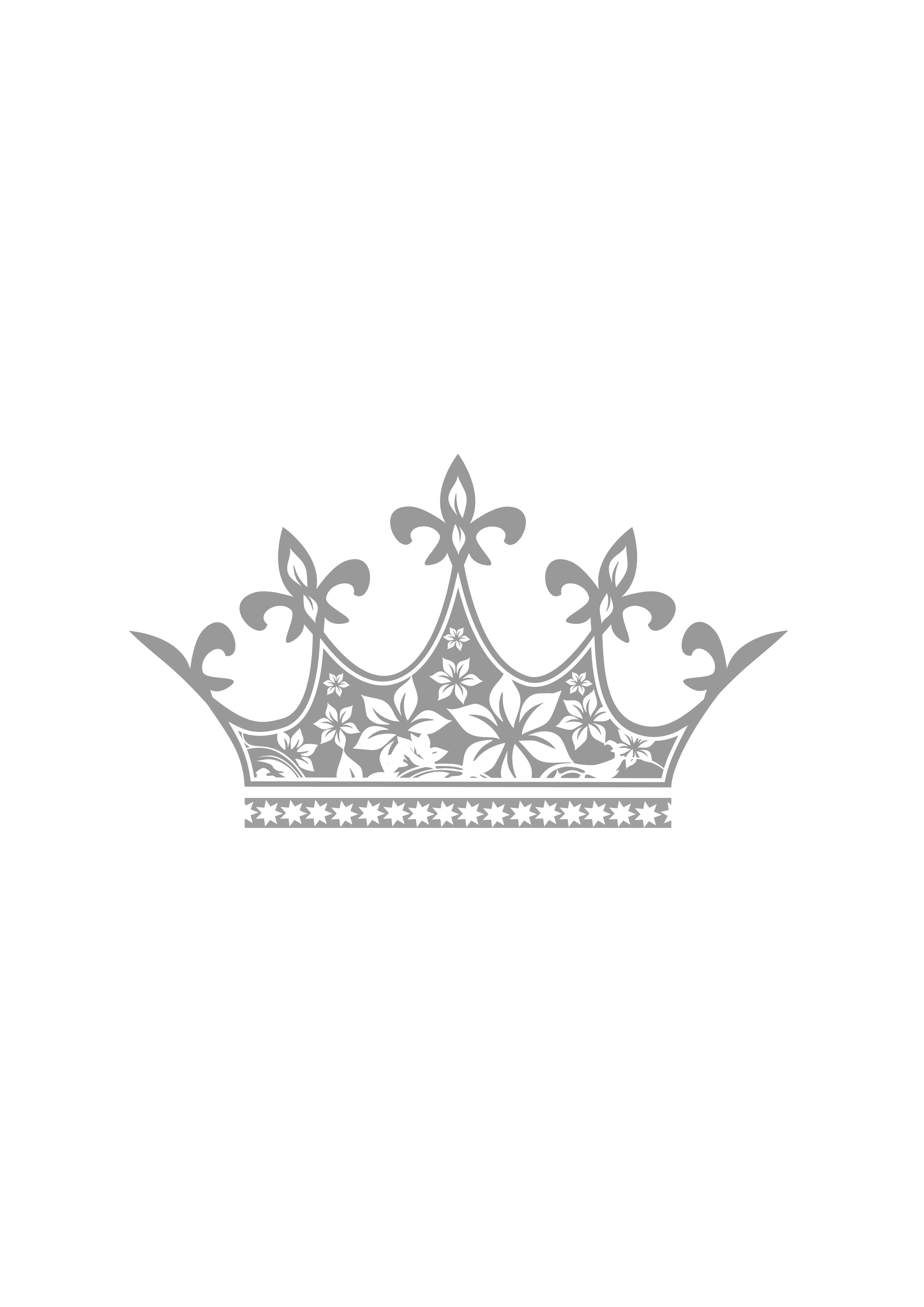 Pageant crown clipart clip black and white stock 28+ Collection of Beauty Queen Crown Clipart | High quality, free ... clip black and white stock