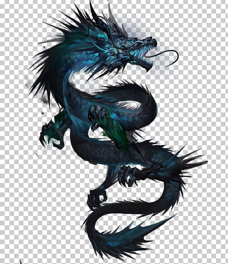 Beautiful dragon clipart vector transparent library Tattoo Chinese Dragon Japanese Dragon Drawing PNG, Clipart, Art ... vector transparent library