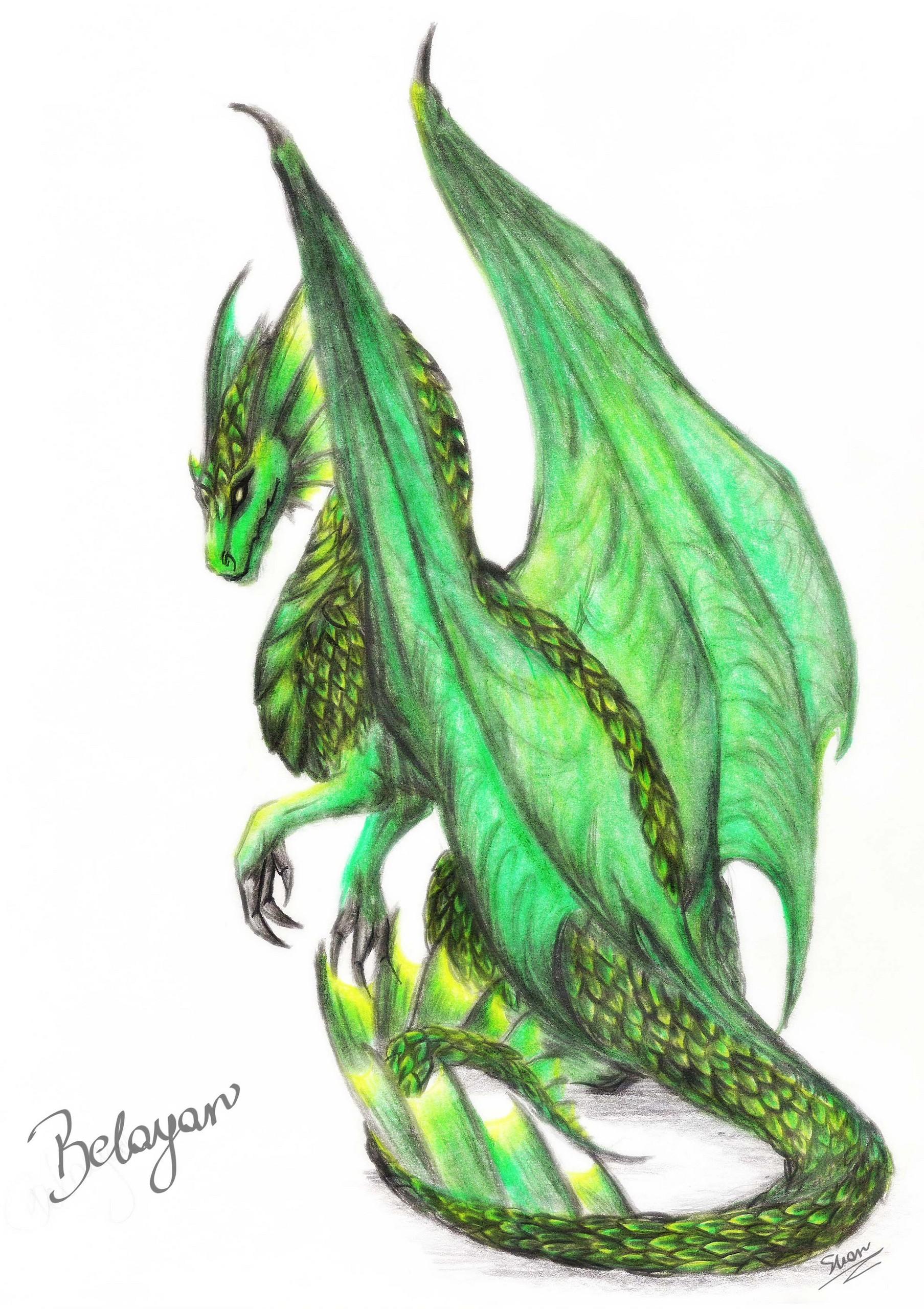Beautiful dragon clipart clip art black and white stock Free Green Dragon, Download Free Clip Art, Free Clip Art on Clipart ... clip art black and white stock