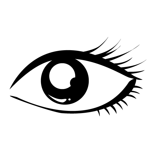 Beautiful eye clipart black and white image transparent stock Beautiful eye clipart black and white » Clipart Station image transparent stock