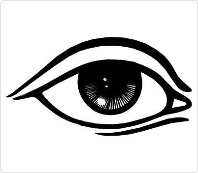 Beautiful eye clipart black and white clip art royalty free stock Beautiful eye clipart black and white 6 » Clipart Station clip art royalty free stock