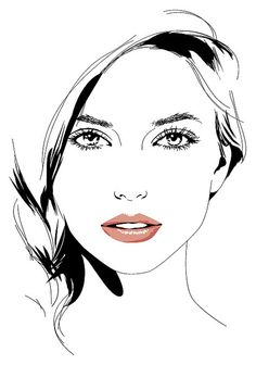 Beautiful face clipart clip art library Beautiful Girl Face Drawing | Free download best Beautiful Girl Face ... clip art library