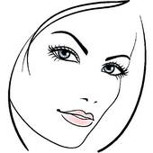 Beautiful face clipart graphic freeuse stock Beauty face Clipart and Stock | Clipart Panda - Free Clipart Images graphic freeuse stock
