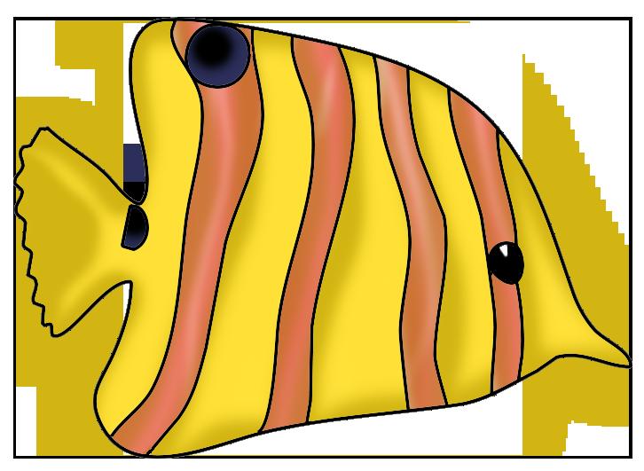 Beautiful fish clipart jpg royalty free stock yellow orange fish clip art | Vízi világ | Pinterest | Clip art ... jpg royalty free stock