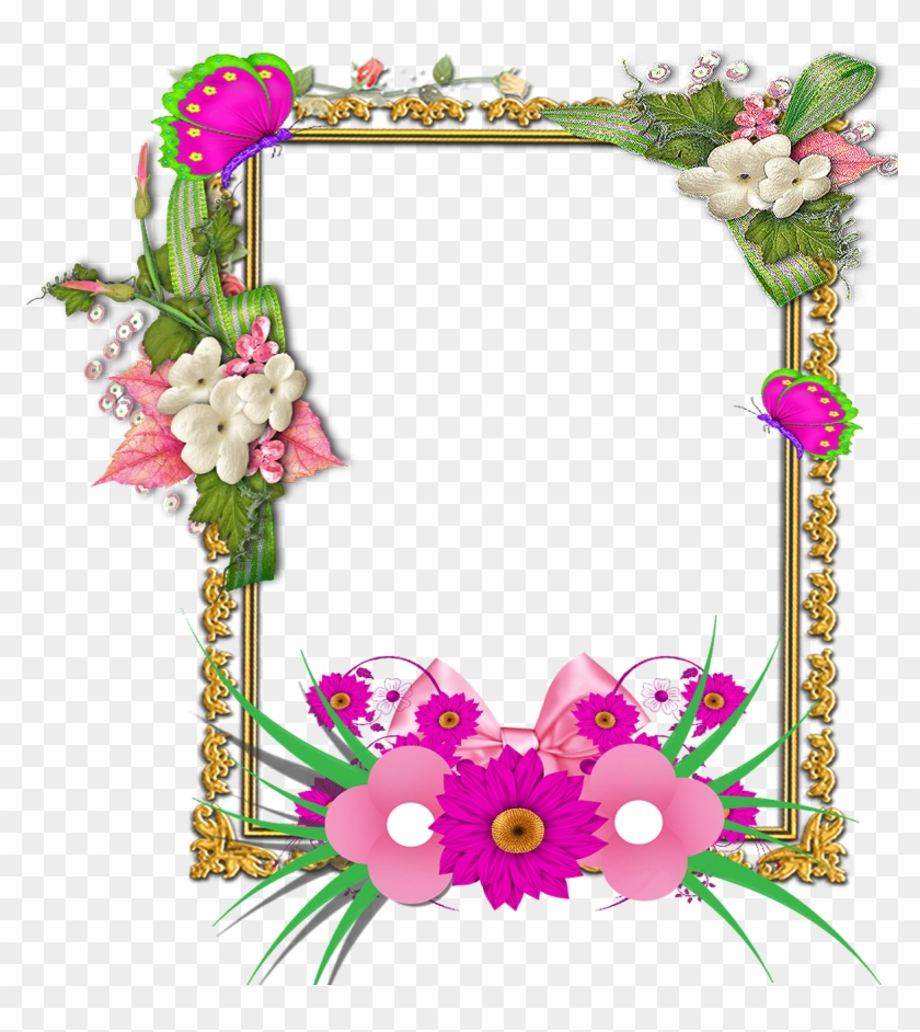 Beautiful flower frames clipart svg black and white library Flower Frame Png, Frame Floral, Png Photo, Frame Wreath, - Beautiful ... svg black and white library