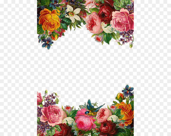 Beautiful flower frames clipart free stock Flower Pixabay Clip art - Beautiful flowers border - Nohat free stock