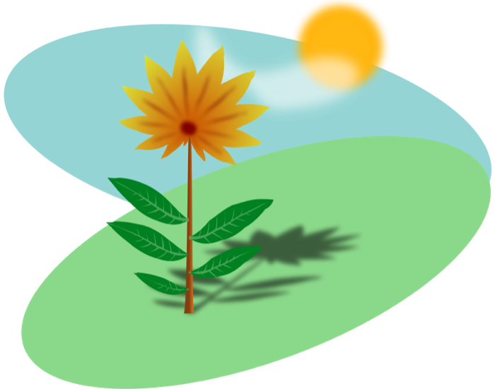 Beautiful flowers and sun clipart picture transparent stock Summer Clipart - Sun, Hot Weather, Beach and BBQ Graphics picture transparent stock