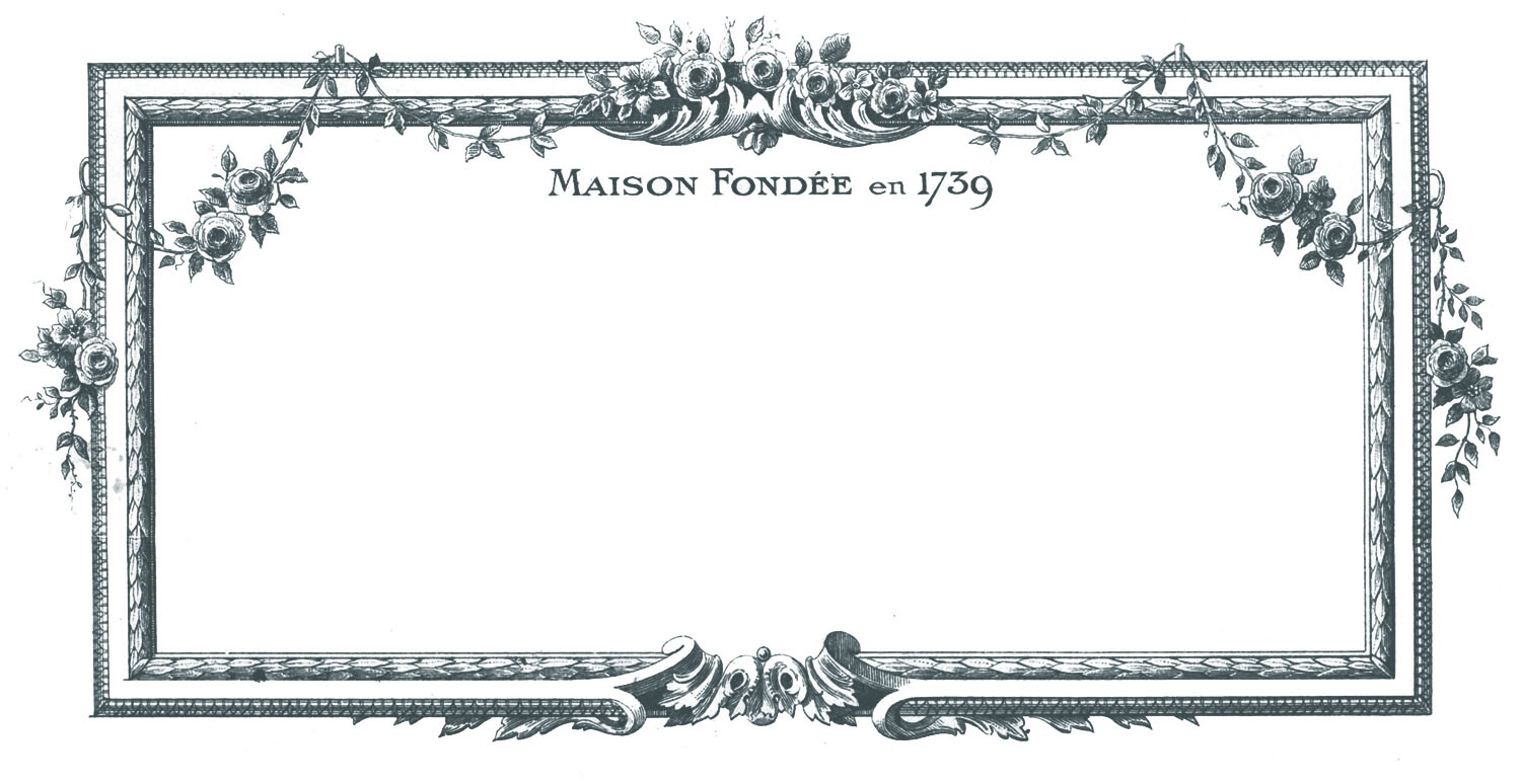 Vintage french clipart banner free Vintage Clip Art - Beautiful French Frames - The Graphics Fairy banner free