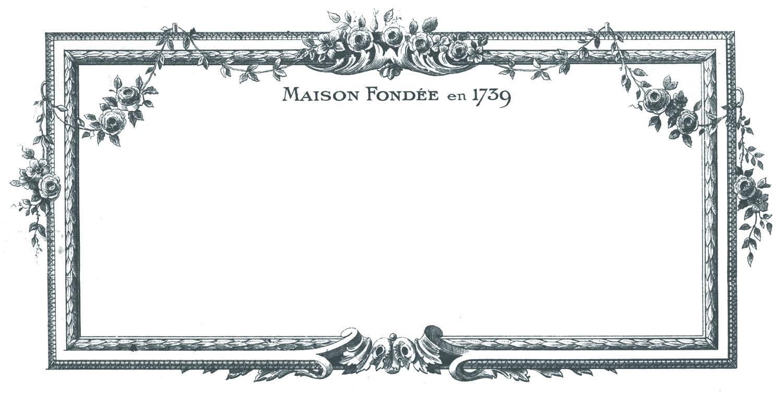 Beautiful frames clipart clip download Vintage Clip Art - Beautiful French Frames - The Graphics Fairy clip download
