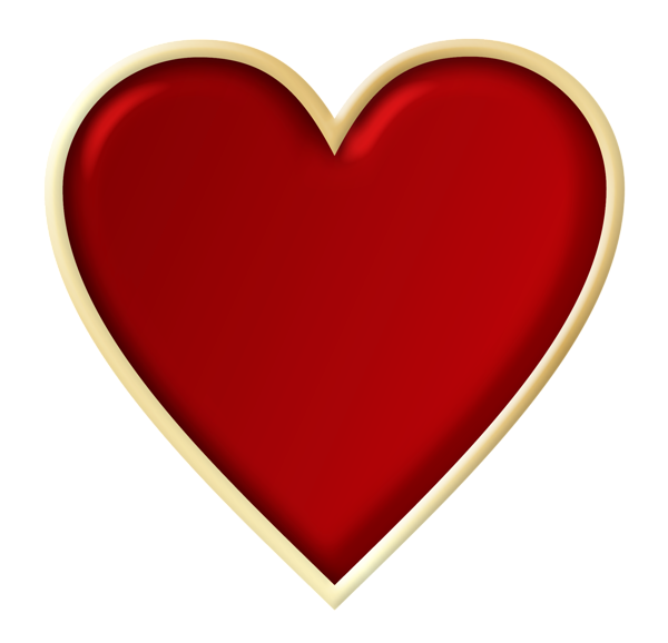 Red Heart PNG Picture Clipart. Lots of images... | Illustrations ... clipart black and white library