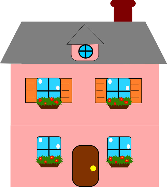 House vector clipart jpg Doll House Clipart (51+) jpg