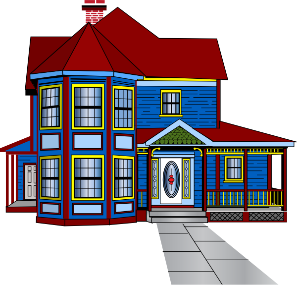 Beautiful house clipart png Bungalow Clipart Beautiful House #2672897 png
