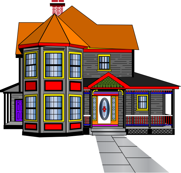 Beautiful house clipart png free download Big House Clipart - ClipArt Best | CUTE HOUSE'S & BUILDING ... png free download